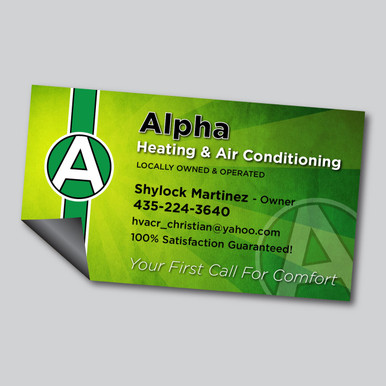 Business Card Magnets - Maximage Printers
