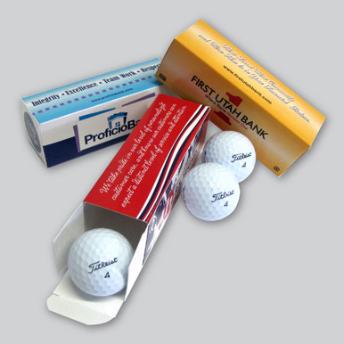 Custom Printed Golf Ball Sleeves