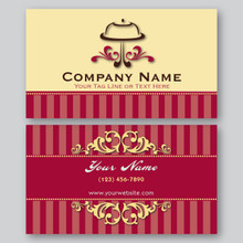 Bakery Business Card