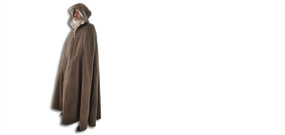 Hooded Wool Cloak