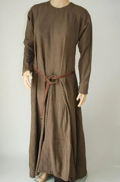 Medieval Dress Brown