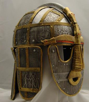 Sutton Hoo Deluxe Helmet Side View