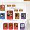 Norse Mythology Family Tree Poster Close Up