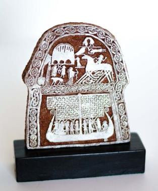 Tjangvide Picture Stone replica