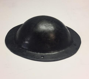 Blackened Hammered Dome Boss 2.5mm side