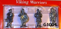 4 Viking Figures 4cm