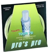 Pro's Pro Tour 75 0.75mm Badminton Set