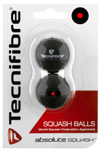 Tecnifibre Red Dot Squash Balls 2 Pack