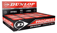 Dunlop Progress Squash Balls 12 Pack