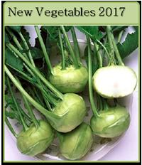 New Vegetables For 2017