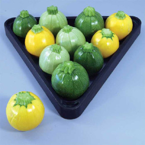 Pool Ball Round Summer Zucchini -Squash