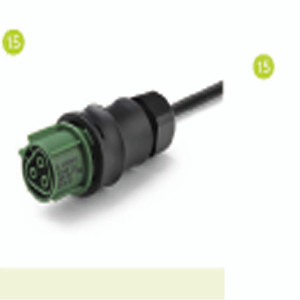 Main Power Cable for Green Power LED Top Lighting