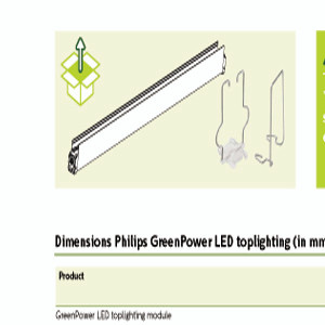 Mounting Bracket for Green Power LED Top Lighting (LED-Mounting Bracket)