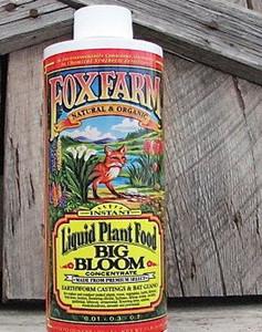 Plant Food -Liquid Concentrate-Fox Farm - Big Bloom