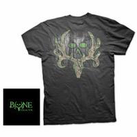 Bone Collector Camo Logo Black