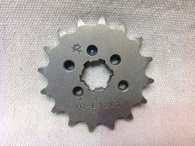16 TOOTH FRONT SPROCKET CT110