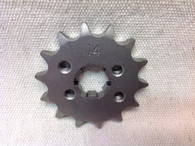 14 TOOTH FRONT SPROCKET CT110