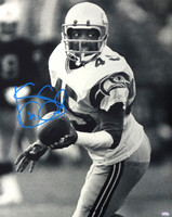 Kenny Easley Autographed 16x20 Photo Seattle Seahawks.