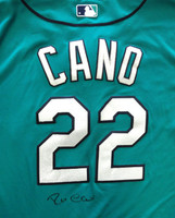 Robinson Cano Autographed Seattle Mariners Authentic Teal Cool Base Jersey PSA/DNA ITP