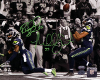 Richard Sherman & Malcolm Smith Autographed 8x10 Photo Seattle Seahawks