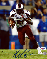 Marcus Lattimore Autographed 8x10 Photo South Carolina Gamecocks PSA/DNA