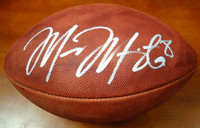 Marcus Mariota Autographed NFL Leather Football Oregon Ducks MM Holo
