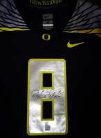 Marcus Mariota Autographed Black Nike Jersey Oregon Ducks Size Medium MM Holo
