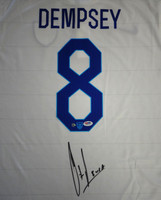 Clint Dempsey Autographed Team USA Nike Jersey Size XL