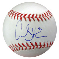 Carson Smith Autographed Official MLB Baseball Seattle Mariners