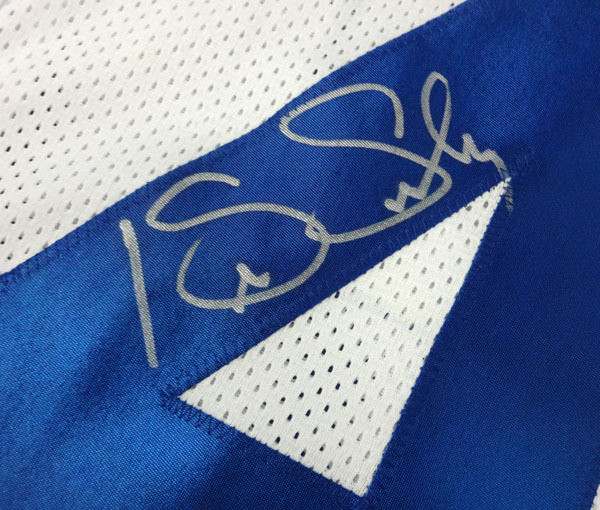 Kenny Easley Autographed Seattle Seahawks White Jersey MCS Hologram
