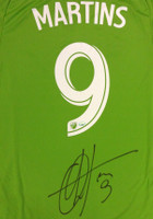 Obafemi Martins Autographed Adidas Seattle Sounders Jersey Size S