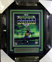 Richard Sherman Autographed Framed 8x10 Photo Seattle Seahawks RS Holo