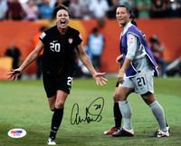 Abby Wambach Autographed 8x10 Photo Team USA PSA/DNA
