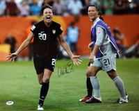 Abby Wambach Autographed 16x20 Photo Team USA PSA/DNA