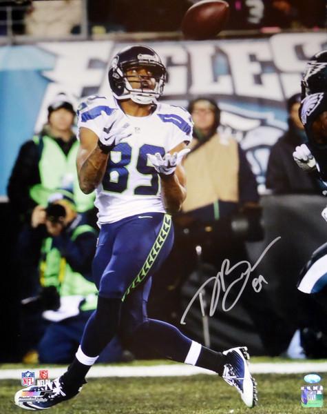 Doug Baldwin Autographed 16x20 Photo Seattle Seahawks MCS Holo Stock #104875