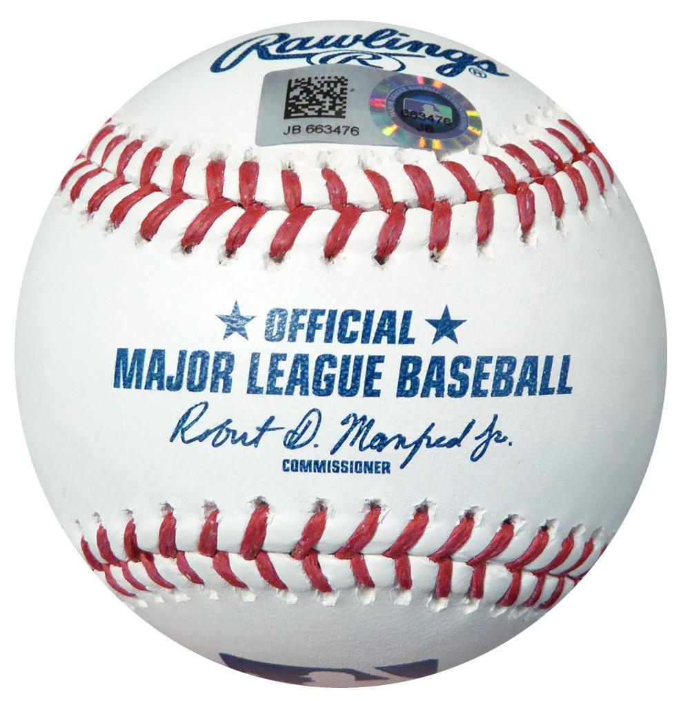 "Carlos Correa Autographed Official MLB Baseball Houston Astros ""2015 AL ROY"" MLB Holo"