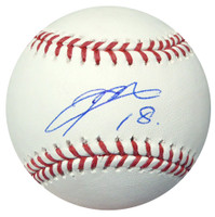 Kenta Maeda Autographed Official MLB Baseball Los Angeles Dodgers MLB Holo