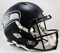 Unsigned Seattle Seahawks Full Size Replica Speed Helmet