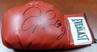 Floyd Mayweather Jr. Autographed Red Everlast Boxing Glove LH Beckett BAS