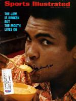 Muhammad Ali Autographed Sports Illustrated Magazine PSA/DNA #V01681