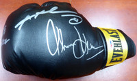 Boxing Greats Autographed Black Everlast Boxing Glove With 3 Signatures PSA/DNA!!