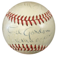 1948 New York Giants Autographed NL Baseball With 19 Signatures Including Johnny Mize PSA/DNA #W06937