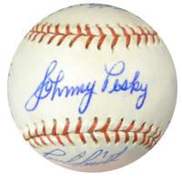 1962 Seattle Rainiers Team Signed Autographed Baseball With 19 Signatures Including Johnny Pesky SKU #102569