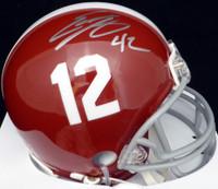 Eddie Lacy Autographed Alabama Crimson Tide Mini Helmet MCS Holo