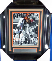 A.J. AJ Green Autographed Framed 8x10 Photo Cincinnati Bengals Beckett BAS
