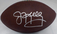 Jim Kelly Autographed Super Grip Football Buffalo Bills Beckett BAS