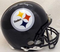 Antonio Brown Autographed Pittsburgh Steelers Full Size Authentic Proline Helmet Beckett BAS
