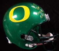 "LaMichael James Autographed Oregon Ducks Full Size Helmet ""5082 Yds, 53 TD's"" PSA/DNA RookieGraph"