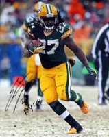"""Eddie Lacy Autographed 16x20 Photo Green Bay Packers """"ROY '13"""" PSA/DNA Stock #82333"""