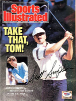 This is a Magazine Cover that has been hand signed by Scott Simpson.  The autograph has been certified authentic by PSA/DNA and comes with their sticker and matching certificate.